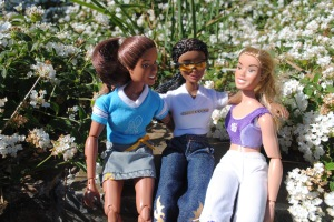 Gabi, Nakia, and Claire
