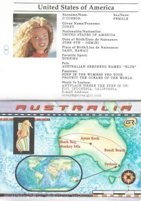 Corey passport